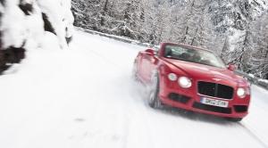 Bentley to Saint Moritz