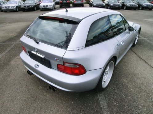 Z3M coupe 4 rury