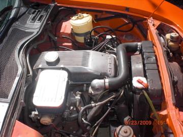 Opel GT motor