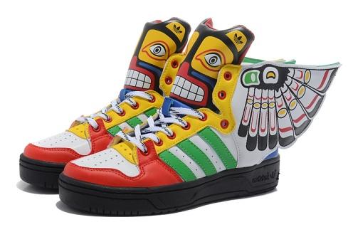 buty ze skrzydełkami xl
