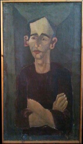 Portret AD 65' pędzla artysty Mierzejewskiego