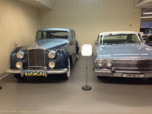 Bentley R Type et Impala