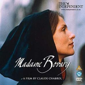 Isabelle Huppert in the Madam Bovary by Chabrol