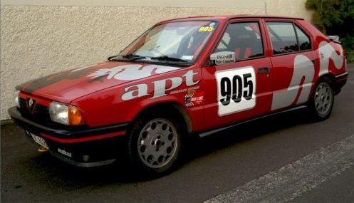 alfa 33 trofeo race