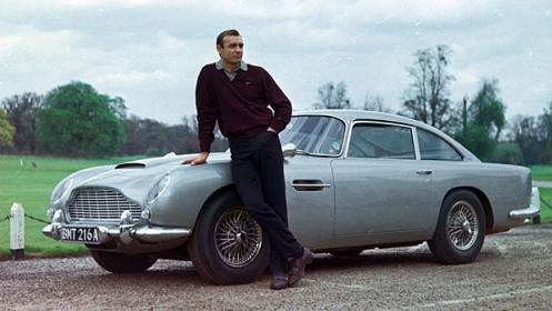 aston m DB5 James Bond