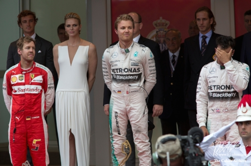 Podium Grand Prix Monaco