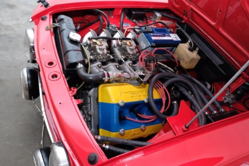 Lancia fulvia HF motore